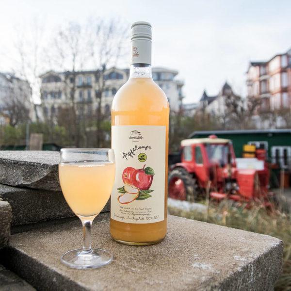 Apfel-Direktsaft Inselmühle Usedom 1