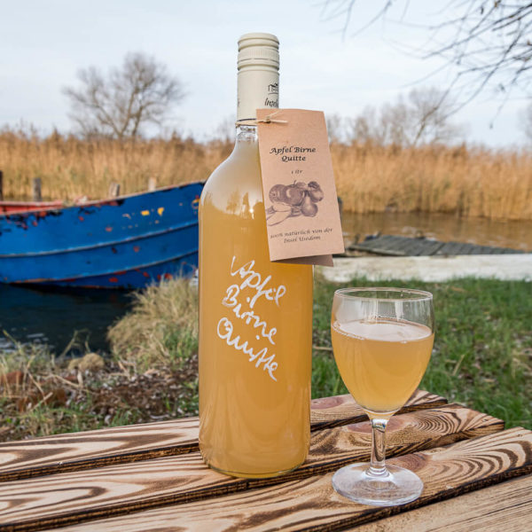 Direktsaft Apfel Birne Quitte Inselmühle Usedom1