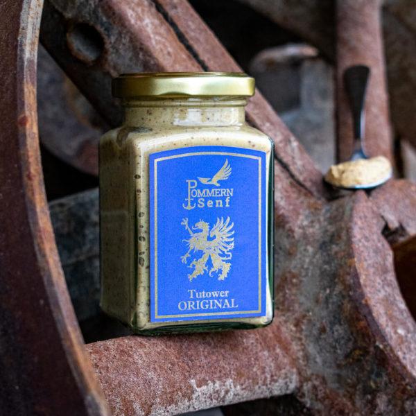 Pommern Senf Inselmühle Usedom Tutower Original ohne Meerrettich 01